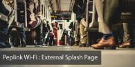 Free Peplink Captive Portal Splash Page Template