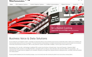 Grapevine Unified Communications Website