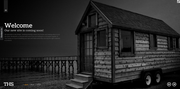 Tiny Home Solutions Web Design