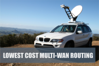 Automatic Lowest Cost Multi-WAN Routing