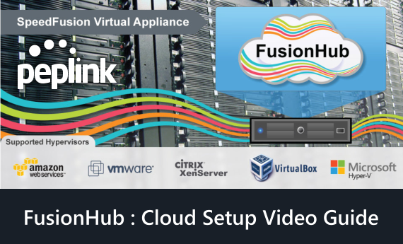 Peplink FusionHub Cloud Setup Tutorial