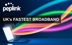Peplink Enables The UK's Fastest Broadband